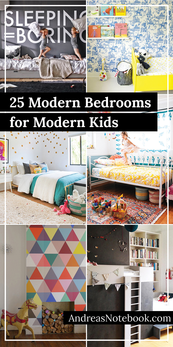 25 Modern Decor Ideas for Kids' Rooms