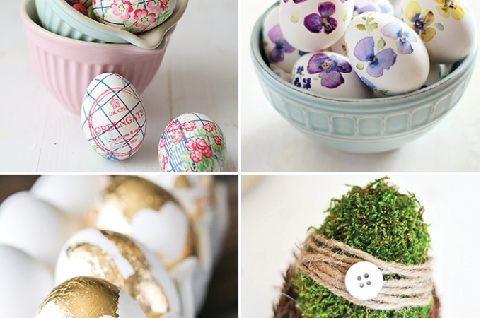 25 creative egg decorating ideas - tutorials