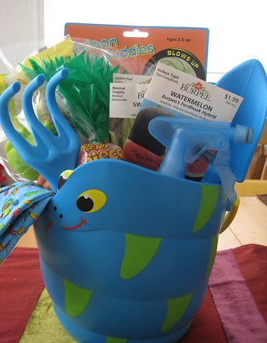 Gardening Themed Easter Basket for Kids