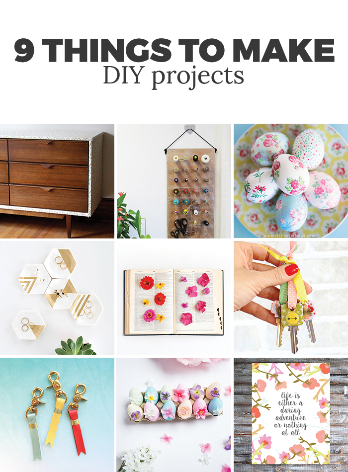 9 great DIY projects