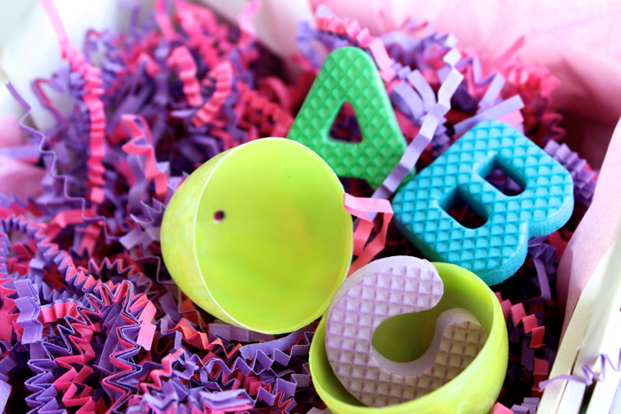 Alphabet Letters for Easter Egg Fillers