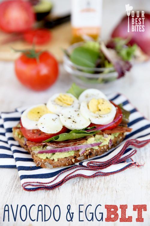Delicious Avocado and Egg BLT