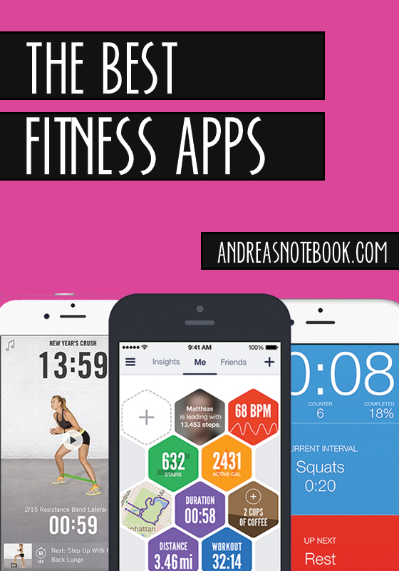 The BEST fitness apps to help you kick start your health