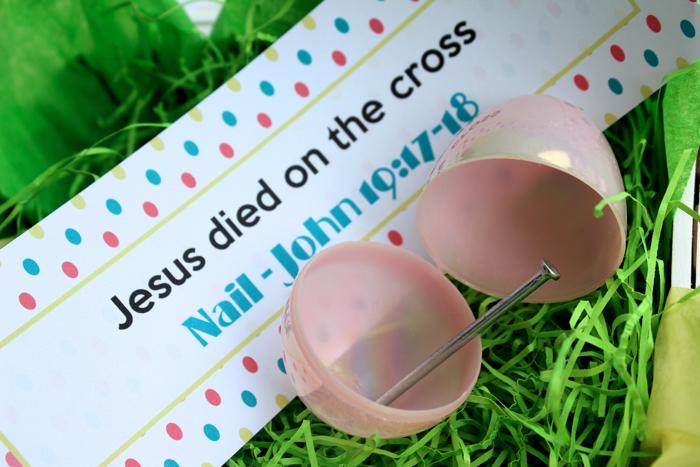 Christ Centered Items for Easter Egg Fillers