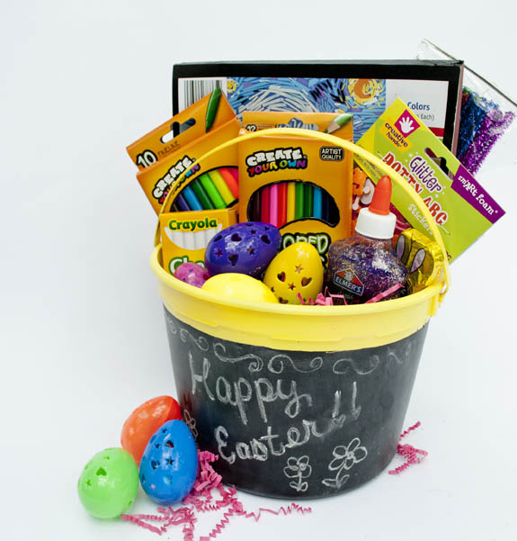 Creative Easter Basket for the Artist