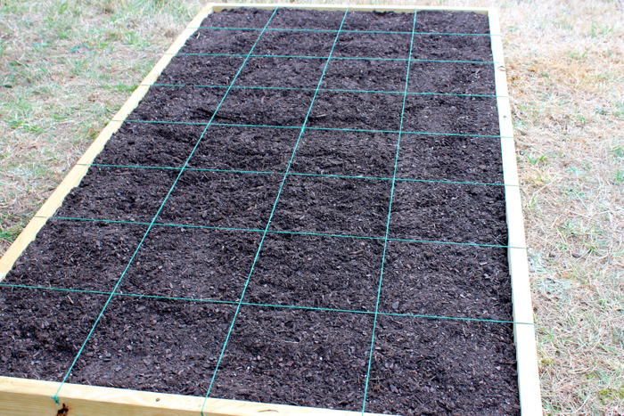 DIY Square Foot Garden Box Tutorial