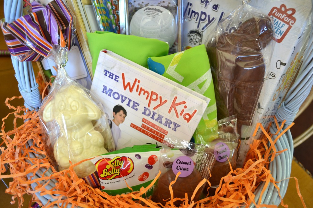 Diary of a Wimpy Kid Themed Easter Basket