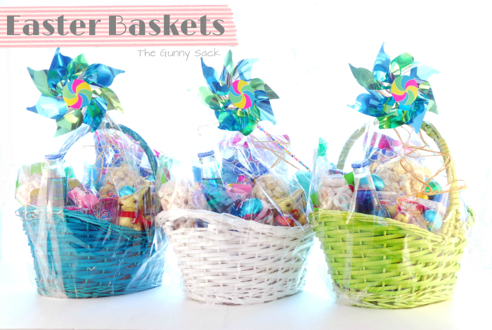 Themed easter baskets easter baskets for kids negle Images
