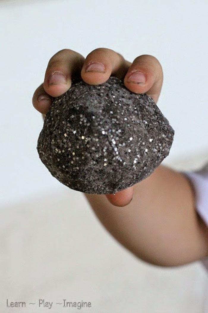 Erupting Moon Rocks