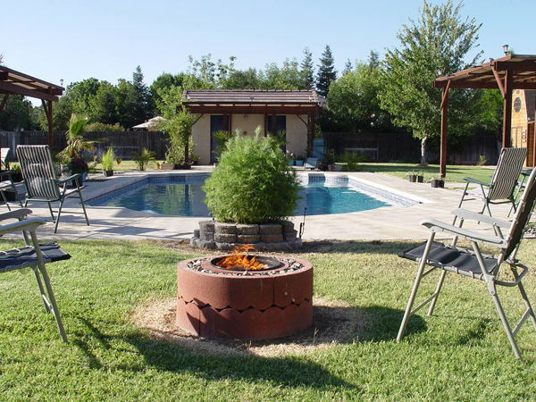 Concrete Tree Rings Fire Pit Tutorial