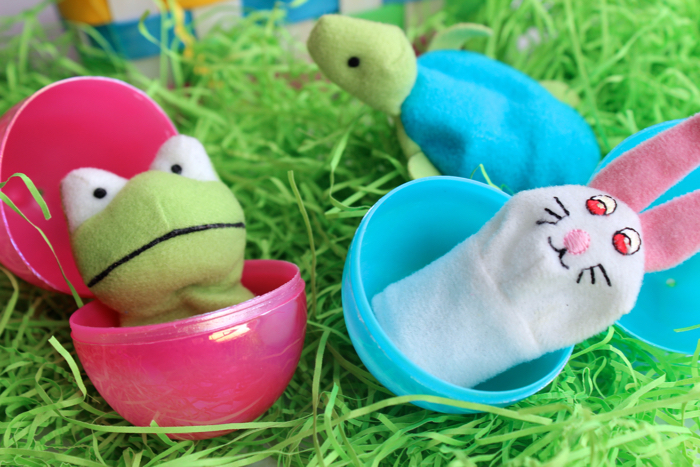 Finger Puppets for Easter Egg Fillers