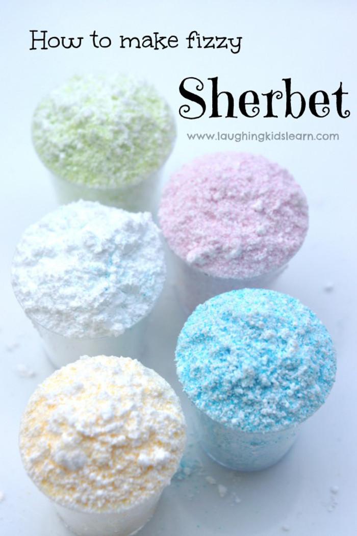 Homemade Sherbet