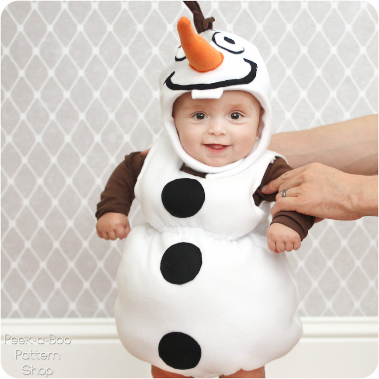 DIY Olaf Costume Tutorial