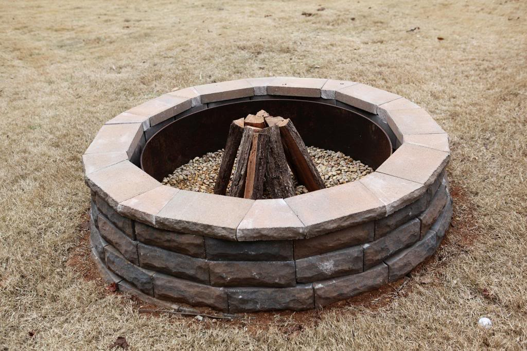 Stone Fire Pit Tutorial