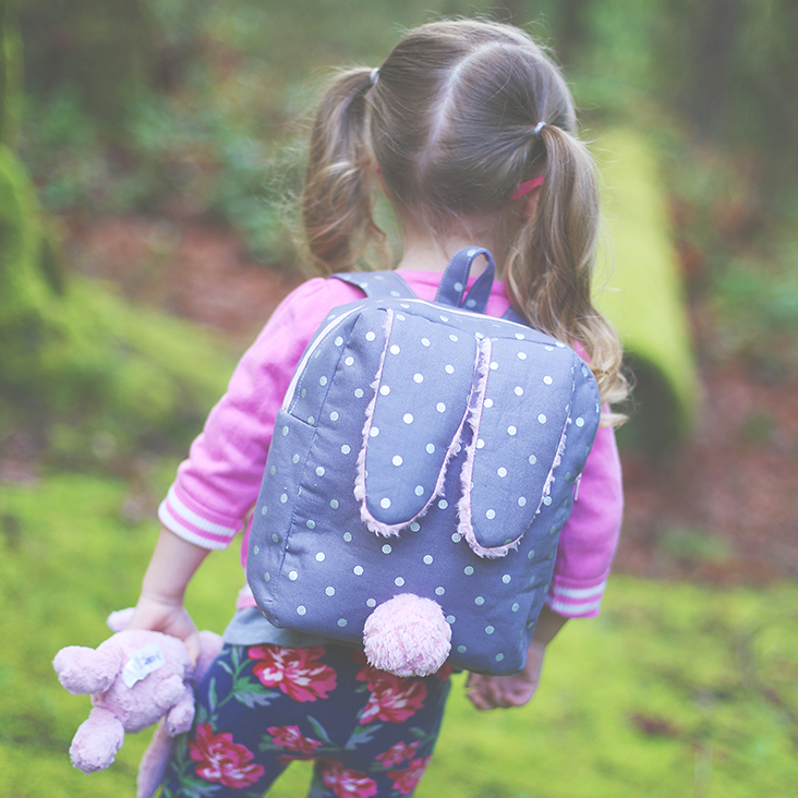 Bunny backpack pattern - FREE
