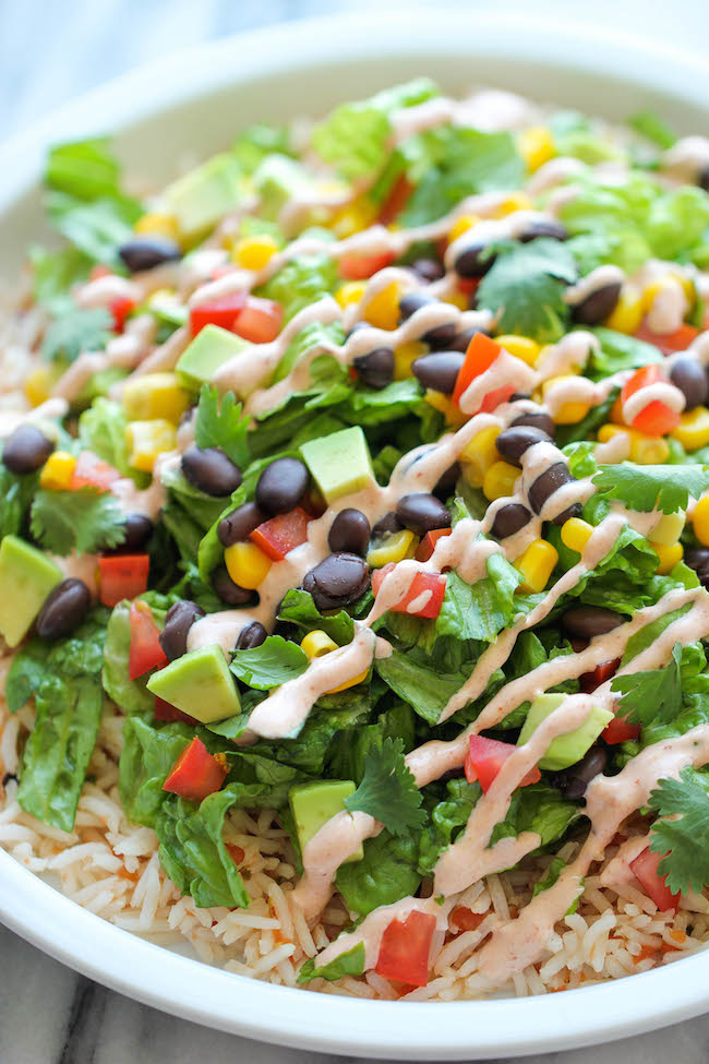 Like Chipotle? Make your own burrito bowls!