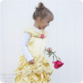 Belle Dress-Up Free Pattern