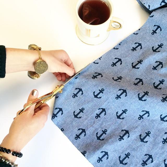 Lindsay Bag Designer Cut Fabric