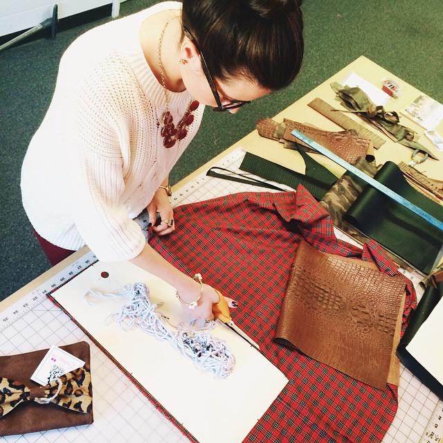 Lindsay Bag Designer Job - measuring