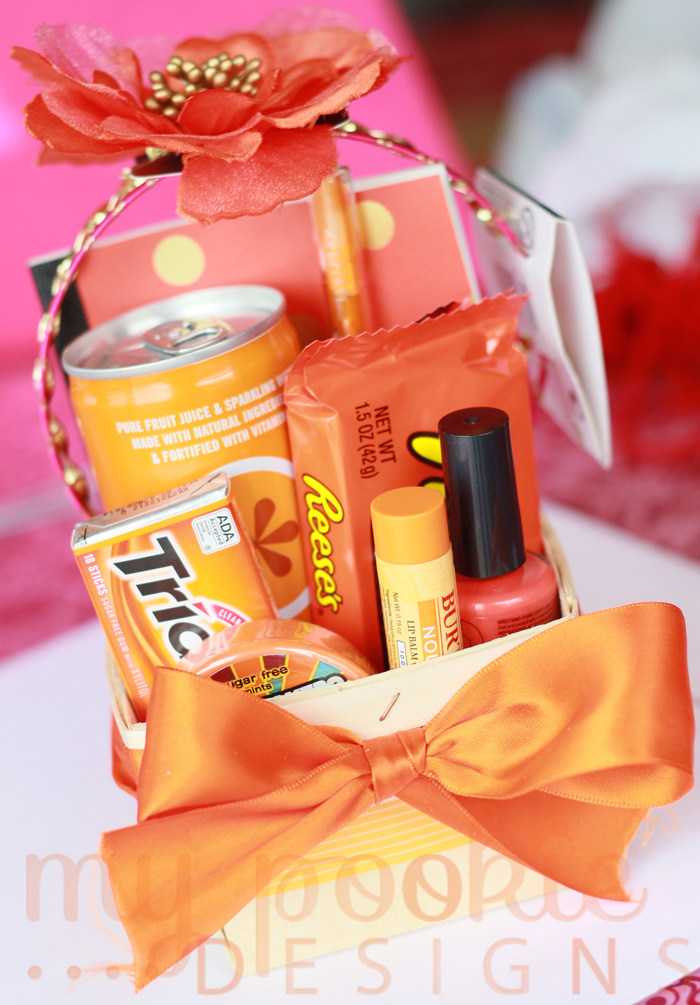 Orange Themed Easter Basket