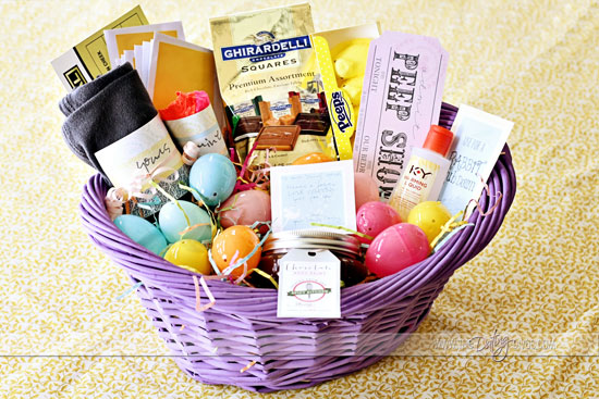 25 themed easter baskets intimate easter basket negle Images