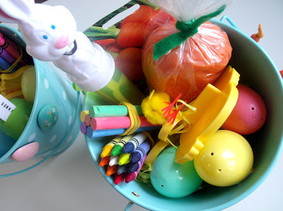 Carrot Playdough Themed Easter Basket Ideas