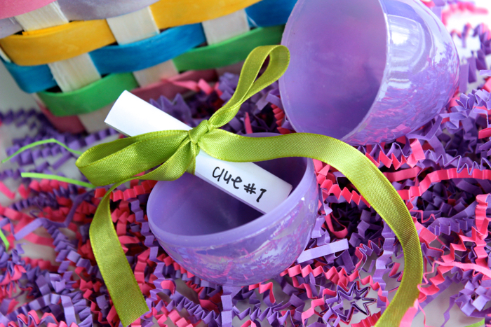 Scavenger Hunt Clues for Easter Egg Fillers