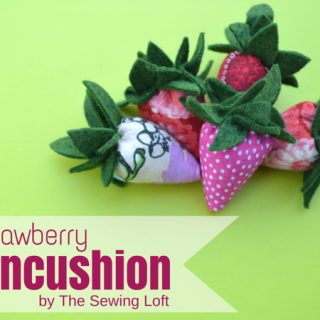 Strawberyr Pincushion Scrapbuster