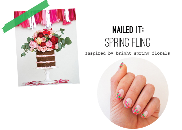 Spring Confetti Nail Polish Tuturial