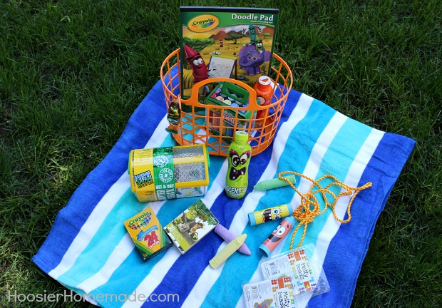 Kid's Summer Themed Easter Basket