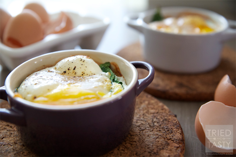 Baked Egg Breakfast