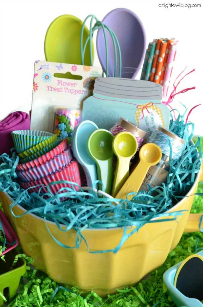 Little Baker Easter Basket