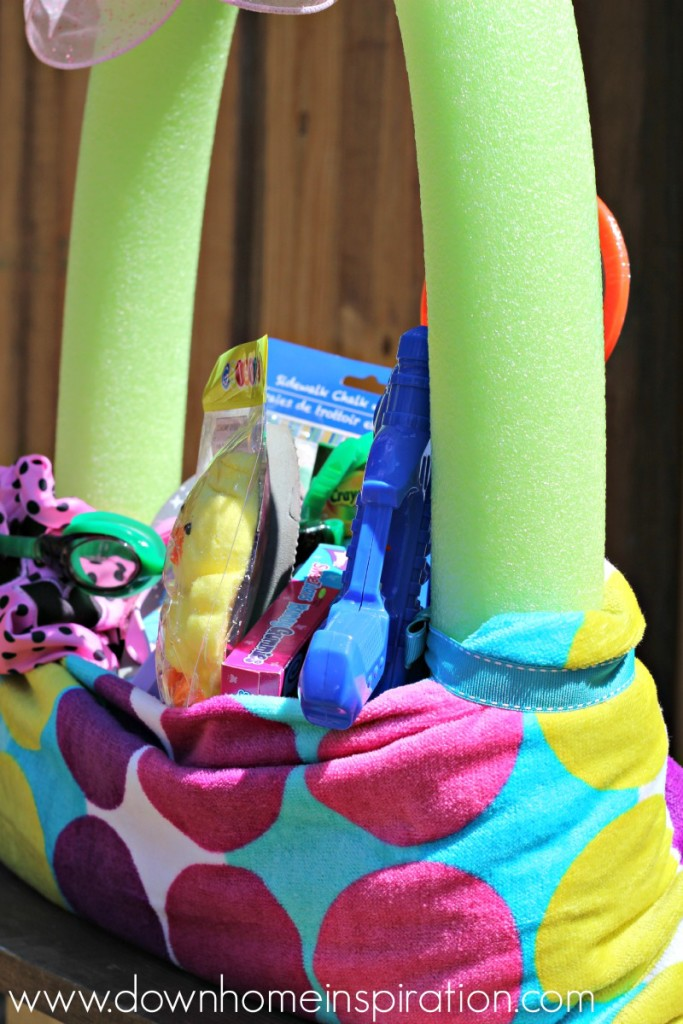 Beach Towel Easter Basket