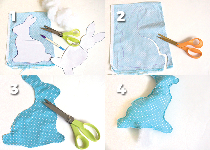 How to sew an Easter Bunny