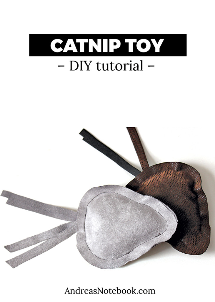 DIY catnip toy tutorial