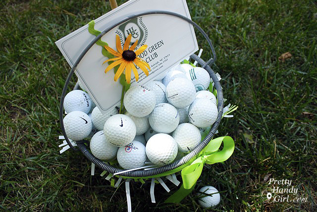 Golf Lover's Easter Basket