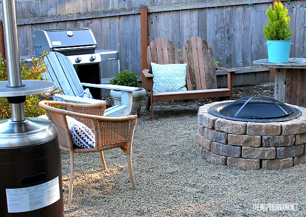 Easy Backyard Bbq Ideas : 12 Easy DIY Fire Pit with a Metal Fireplace Bowl