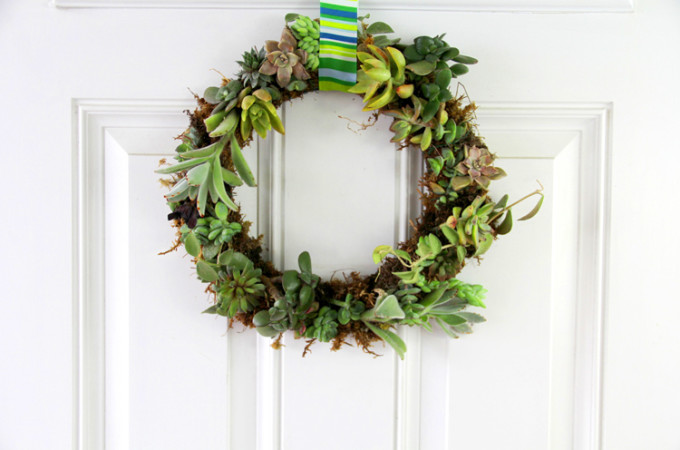 DIY succulent wreath tutorial - VIDEO