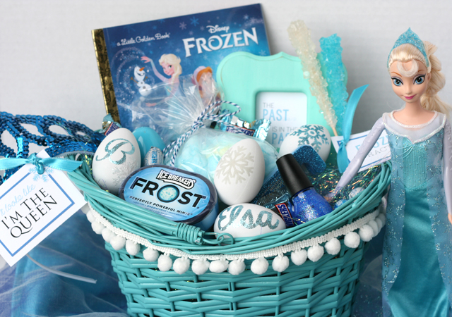 Frozen Themed Easter Basket