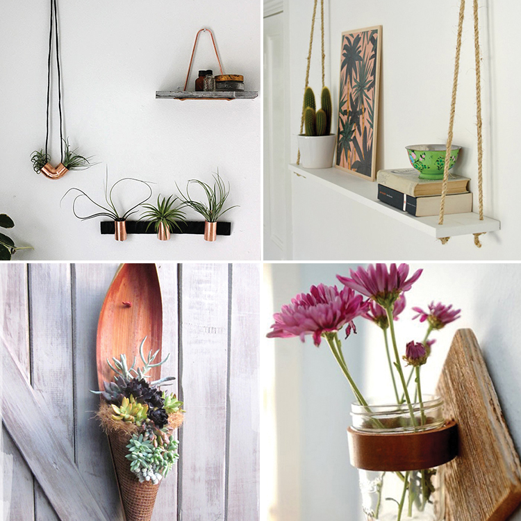 24 Ways to Hang Plants on the Wall - Andrea\'s Notebook