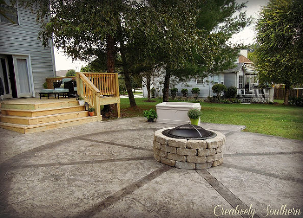 DIY Moveable Fire Pit Tutorial