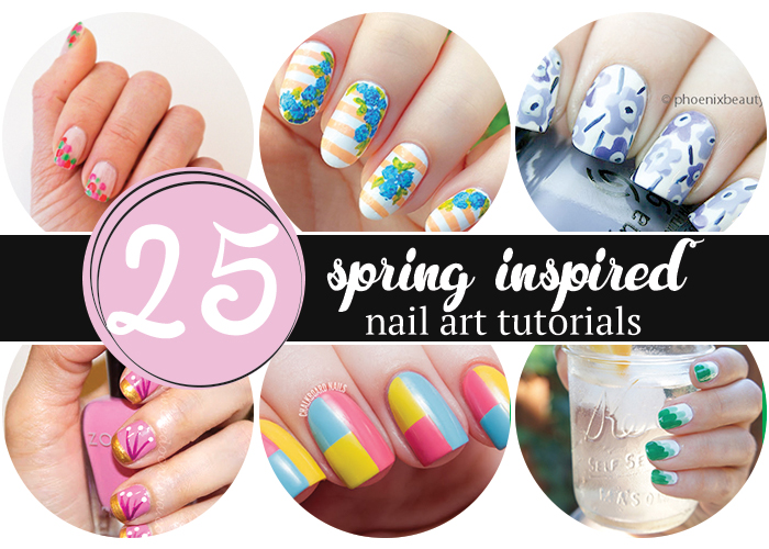 25 gorgeous spring inspired nail tutorials