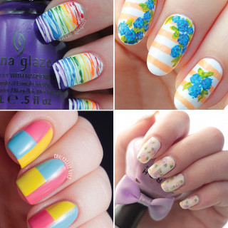 Spring Nail Art Tutorials