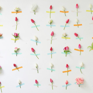 DIY Flower Wall