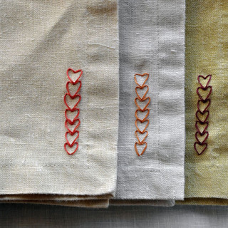 How to Make Embroidered Hearts