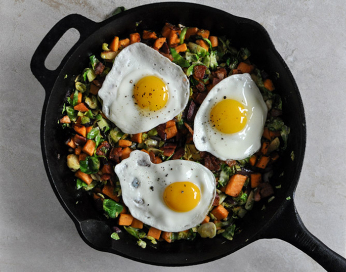 Brussel Sprouts Hash