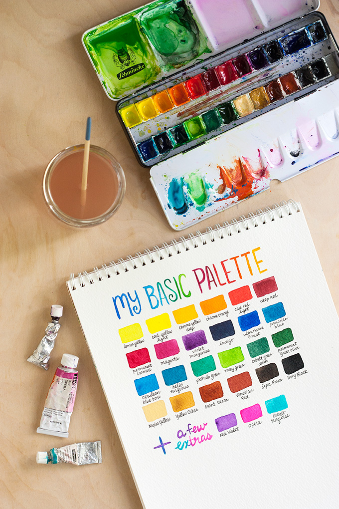 Learn basic watercolor techniques and learn which supplies you should buy.