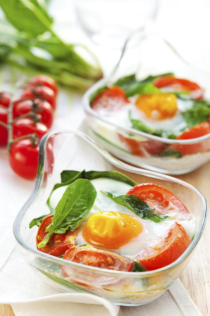 Italian Baked Egg recipe