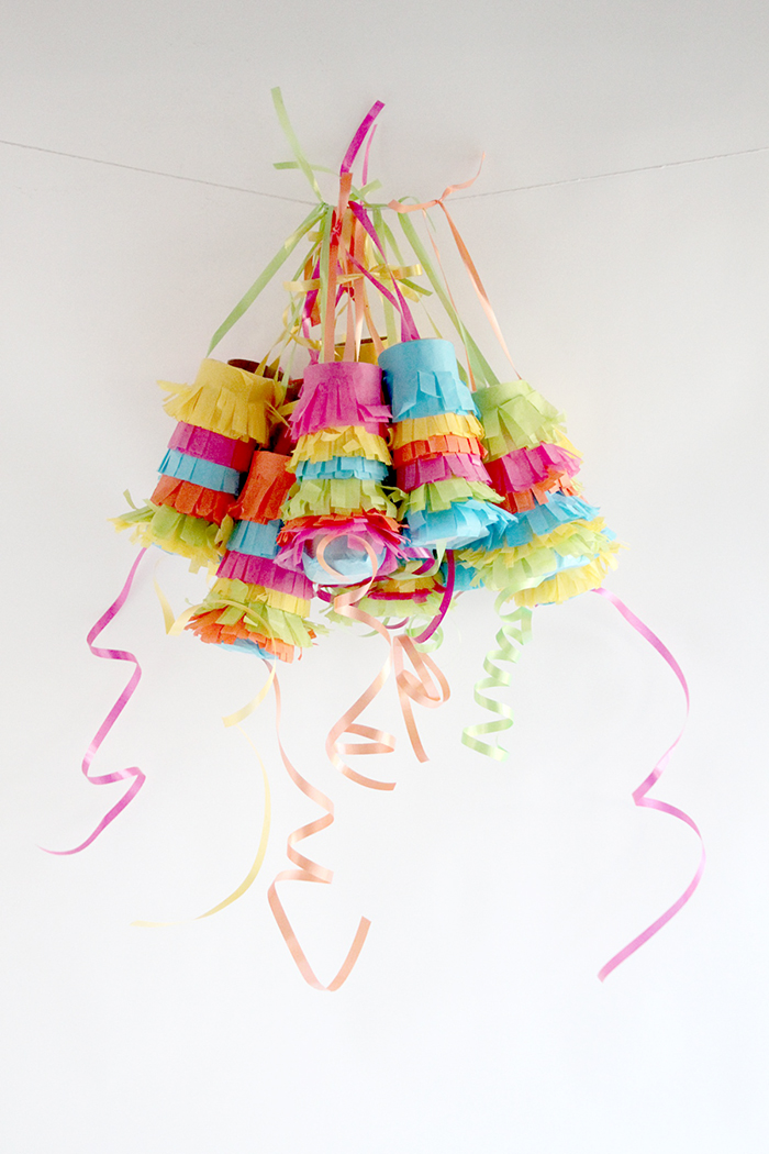 How to make your own pull piñatas.