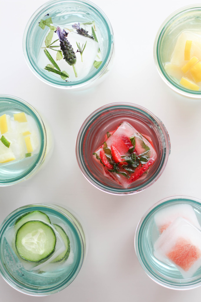 DIY Flavored Ice Cube Recipes